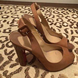 Beige Christian Louboutin Sandals